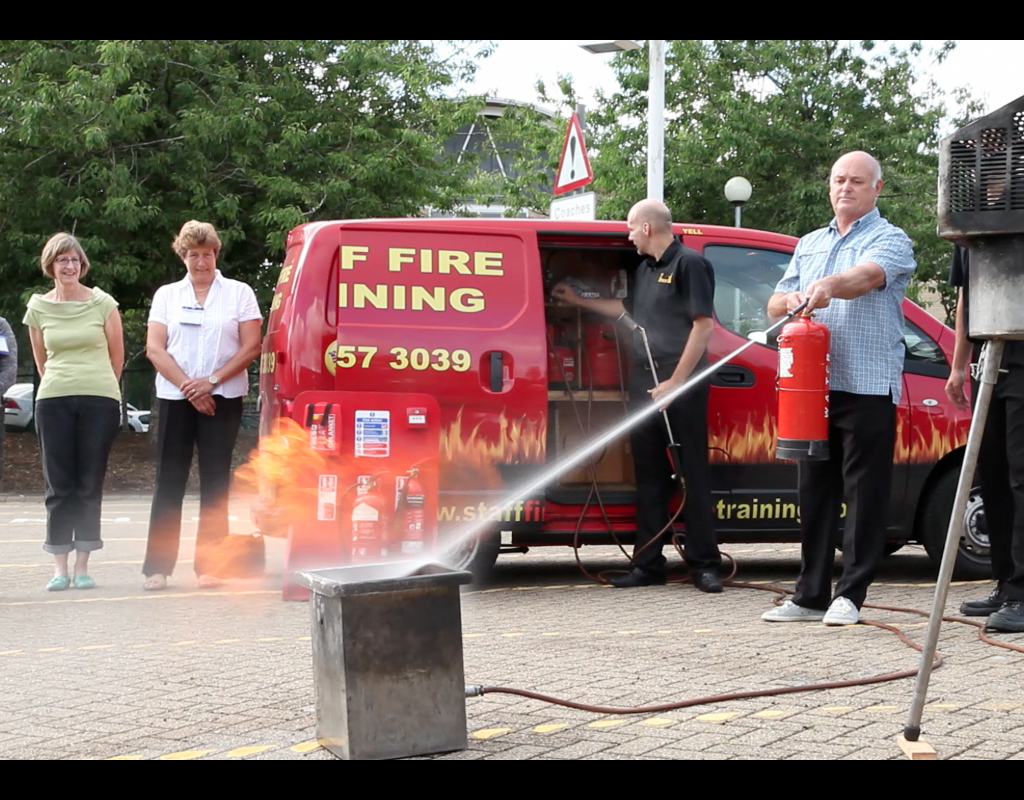 Fire Safety Training Course Practical
