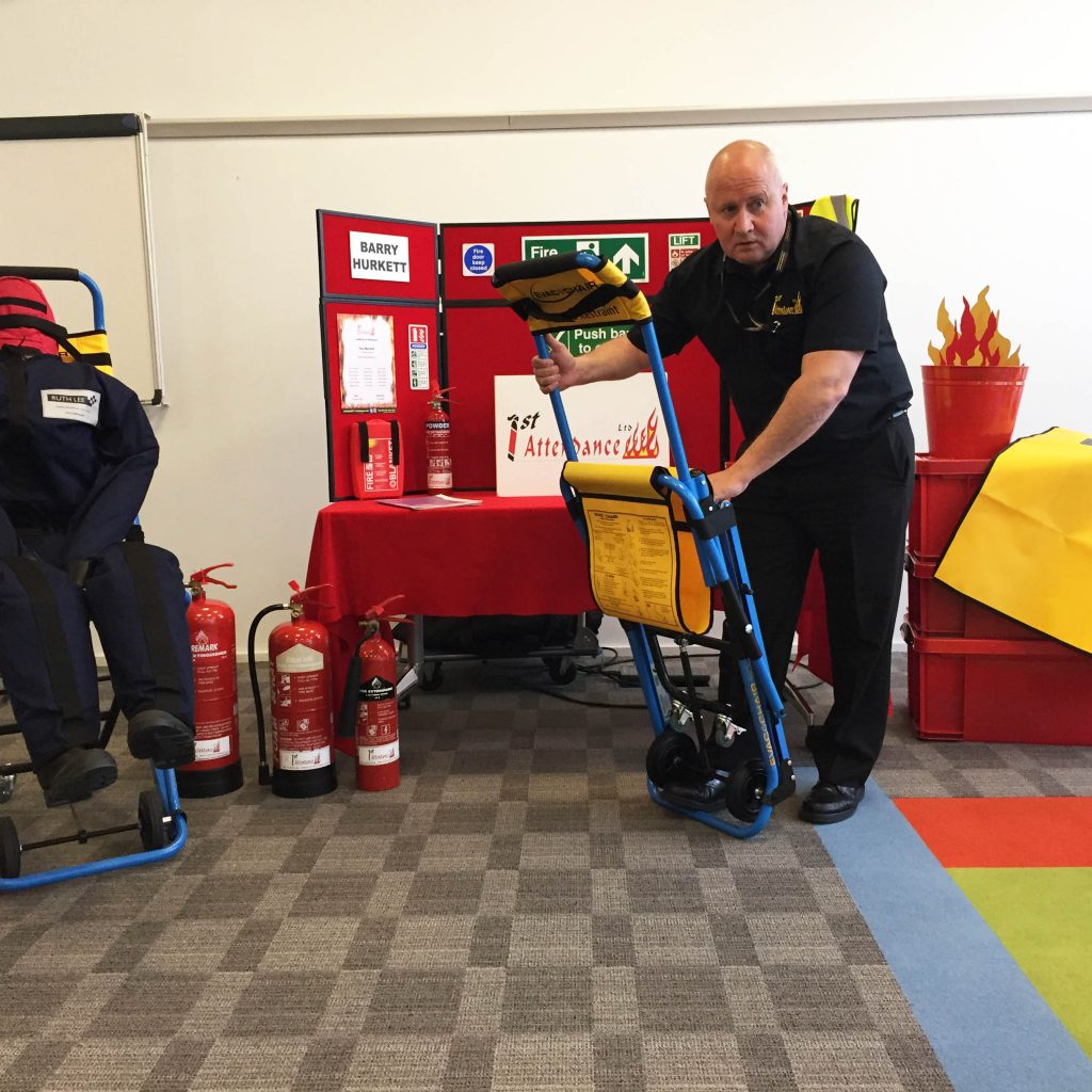 Evacuation Chair Fire Safety Training - 1st Attendance