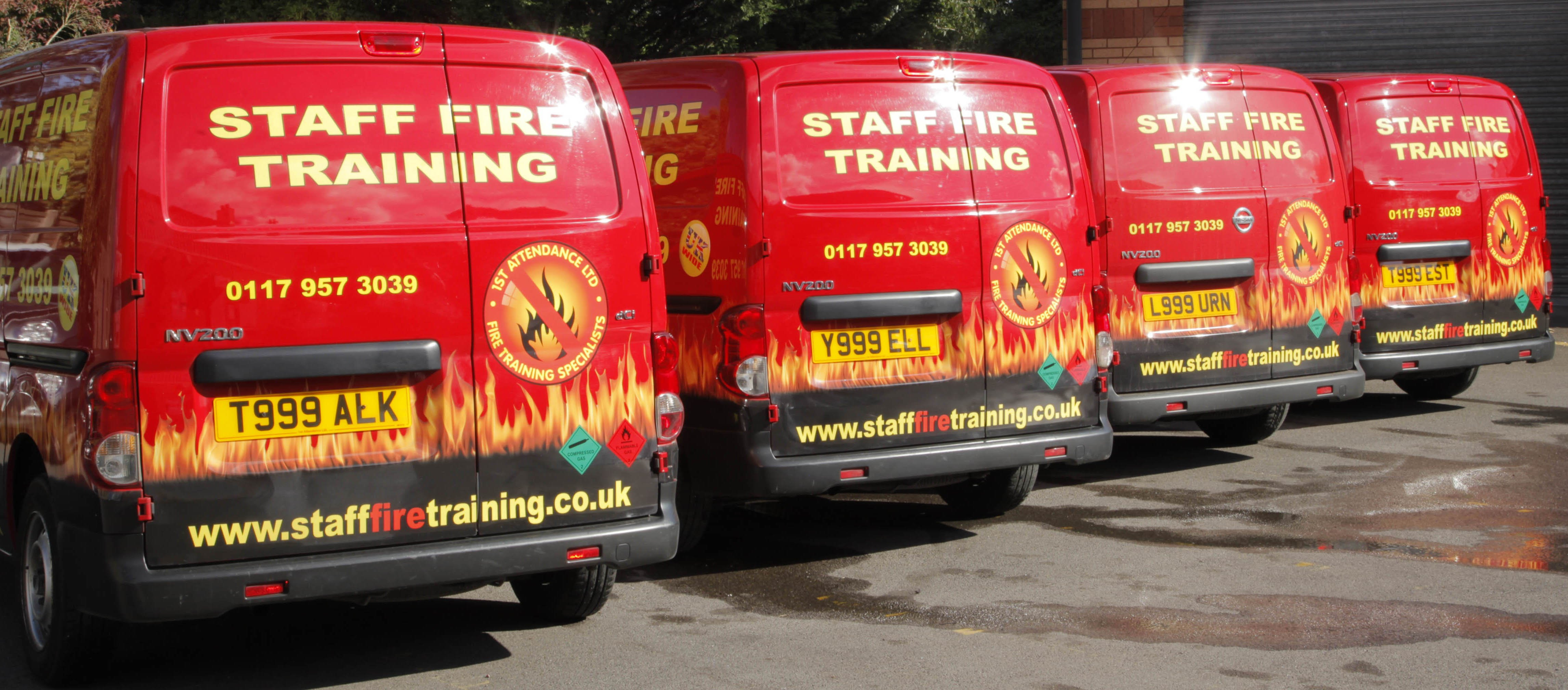 Fire Safety Training Vehicles
